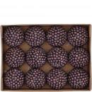 Ball Berry 12 pieces per box, D6cm, purple